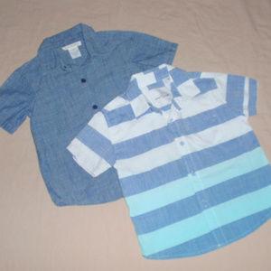 Craft + Flow Toughskins Boys Short Sleeve Shirts
